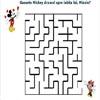 Labirint pentru copii - Ajuta-l pe Mickey sa ajung ala Minnie