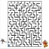 Labirint pentru copii - Reuseste Tom sa-i traga o scarmaneala zdravana neastamparatului Jerry?