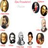Rebus cu personalitati - Muzicieni: Bach, Bizet, Verdi, Strauss, Haydn, Porumbescu, Vivaldi, Ceaikowski, Enescu, Beethoven.