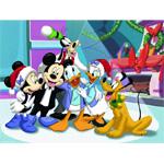 Puzzle cu personaje din Mikey Mouse si Donald