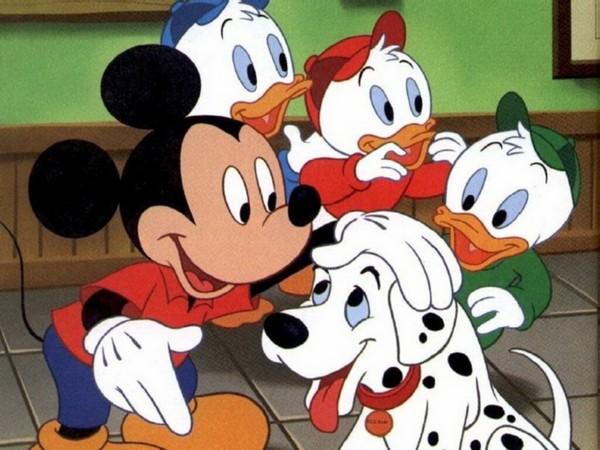 Puzzle cu personaje din Mickey Mouse