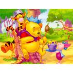 Puzzle cu personaje din Winnie the Pooh