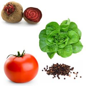 Test cu legume(2)